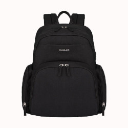 Colorland Baby Changing Backpack with Built in USB Port (Black)