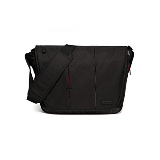 Colorland Ruby Messenger Baby Changing Bag (Black)