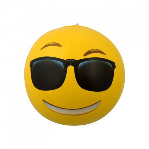 Emoji Emoji Inflatable Beach Balls, Assortment