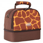Sunveno Insulated Bottle/Lunch Bag - Giraffe