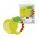 Chicco Fresh Relax Teething Ring (3M+), Apple or Strawberry