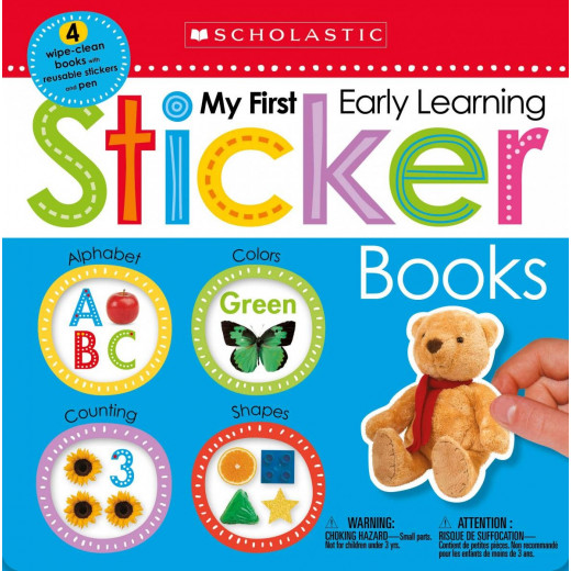My First Early Learning Sticker Books