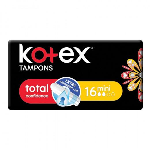 Kotex Tampons Mini, 16 Pcs