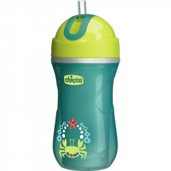 Chicco Sport Cup +14 Months, Neutral - Green 266ml