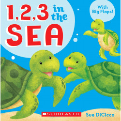 Scholastic : 1, 2, 3 In The Sea