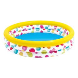 Intex 147 x 33cm Wild Geometry Three Ring Pool