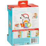 Fisher-Price Activity Zebra Toy with Suction Base