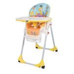 Chicco Polly Easy High Chair, 4 Wheels, Birdland