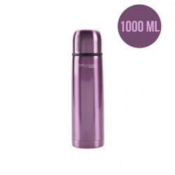 ThermoCafé by Thermos Stainless Steel Flask, 1000ml, Purple