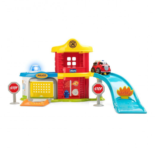 Chicco Police Station and Fire Station - 2 in 1 set