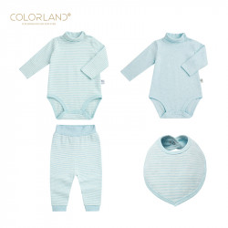 Colorland - (8) 4 Pieces Set - 3-6 Months