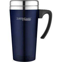 Thermos ThermoCafé Translucent Travel Mug, Blue, 420 ml