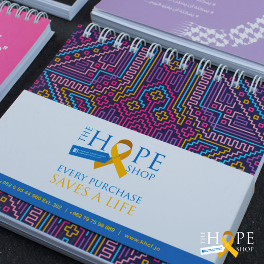 Hope Shop By KHCF - Notebook