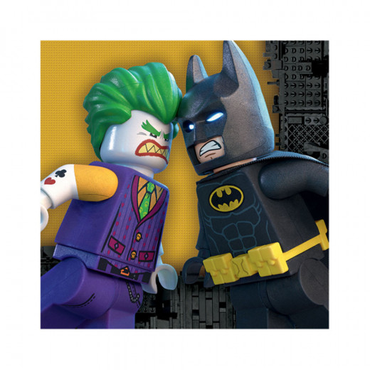 Amscan - Lego Batman Party Supplies Lunch Napkins Pack Of 16