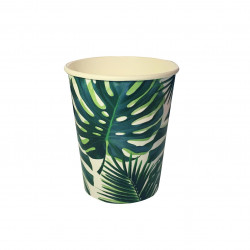 Talking Tables - Palm Tree Paper 8 Cups Tropical Hawaiian Party Theme X8 Cups
