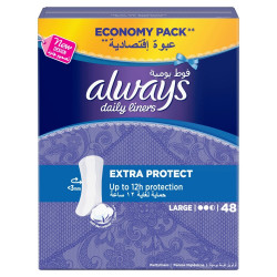 Always - Extra Protect 48 Pads up to 12 Hours