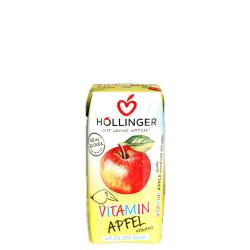 Hollinger Organic Vitamin Apple Juice 200 ml