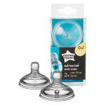Tommee Tippee Advanced Anti-Colic Vari Flow Teats, 2 Count, +0 months