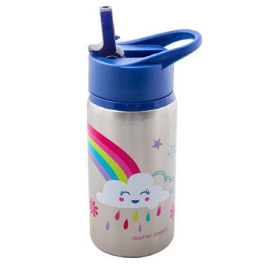 Stephen Joseph Stainless Steel Water Bottles Rainbow