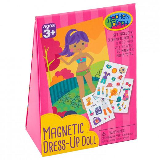 Stephen Joseph Magnetic Dress-Up Doll Girl