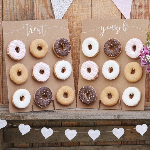 Ginger Ray Treat Yourself Donut Doughnut Wall Wedding Party Favour Display Treat Stand