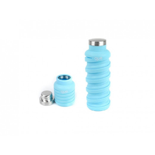 Que Collapsible Water Bottle, Iceberg, 590 ml