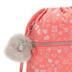 Kipling Supertapoo  Hearty Pink Met