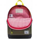 Herschel Heritage Kids Color: Sulfur Rfl/Oliv