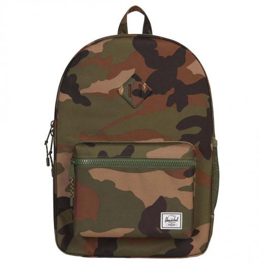 حقيبة صغيرة إكس إل اللون بمزيج من لون أسود وبني وزيتي من هيرشيل هيريتيج يوث
