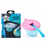 Tommee Tippee Cool & Mash Weaning Bowls 4M+, Pink