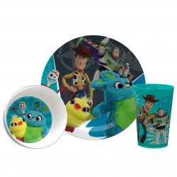 Zak Designs Toy Story 4 Plate, Bowl and Tumbler 3 pcs Window Box