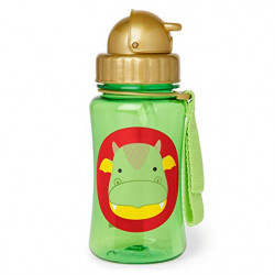Skip Hop Zoo Straw Bottle - Dragon