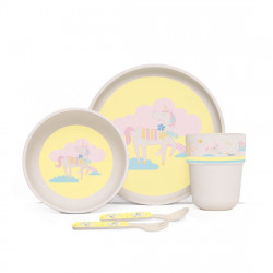 Penny Bamboo Meal Set with Cutlery - Park Life