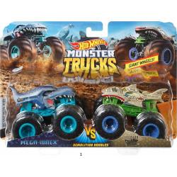 Hot Wheels Monster Demo Doubles Trucks 2 Pack
