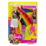 Barbie® Rainbow Sparkle Hair Doll
