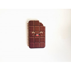 Chocolate Hardcover Notebook A6 Size