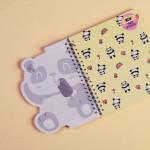Trendy Wire Notebook Panda