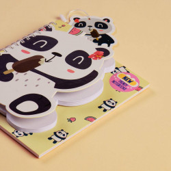 Trendy Wire Notebook Panda