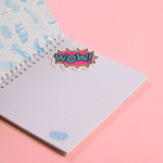 Trendy Wire Notebook Wow