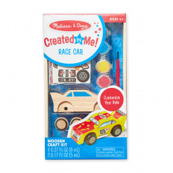 Melissa & Doug Wooden Craft Kit Race Car