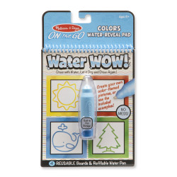 Melissa & Doug Water Wow! - Colors & Shapes Water Reveal Pad