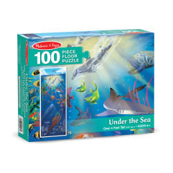 Melissa & Doug Under The Sea Floor 100 Pieces