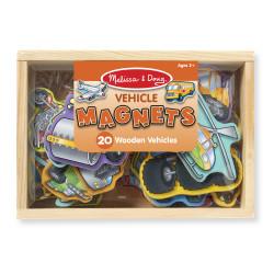 Melissa & Doug Wooden Vehicles Magnets