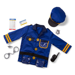 Melissa & Doug Police Officer Role Play Set, 3-6 years
