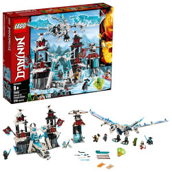 LEGO NINJAGO Castle of the Forsaken Emperor Building Kit, New 2019 (1,218 Pieces)