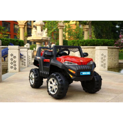 Motor Car Desert  Jeep B - Red