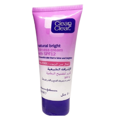 Clean & Clear Natural Bright Fairness Cream SPF12 50 ml