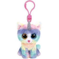 Ty Beanie Boos Heather - cat Clip
