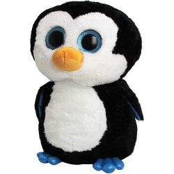 "Ty Beanie Boos Waddles Penguin 16"" Plush, Large"
