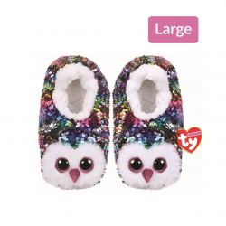 Ty Owen - Sequin Slippers Large (4-6 years)